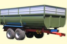 Тракторно ремарке Кобзаренко с едностранно разтоварване ТСП-10