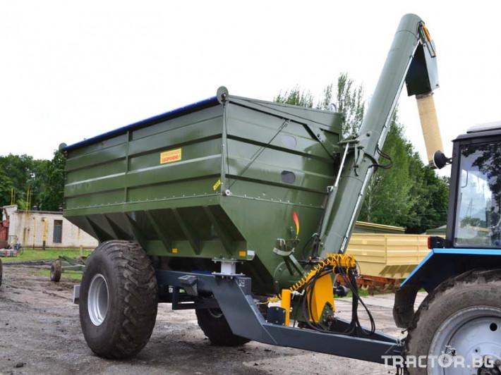 Ремаркета и цистерни Контейнер за събиране Кобзаренко ПБН-20 3 - Трактор БГ