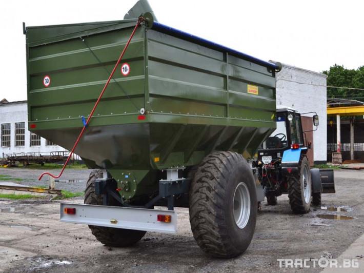 Ремаркета и цистерни Контейнер за събиране Кобзаренко ПБН-20 5 - Трактор БГ