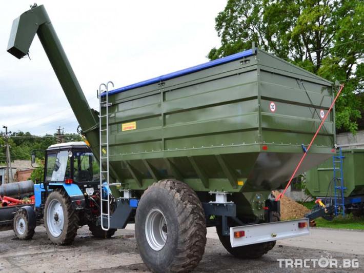 Ремаркета и цистерни Контейнер за събиране Кобзаренко ПБН-20 2 - Трактор БГ