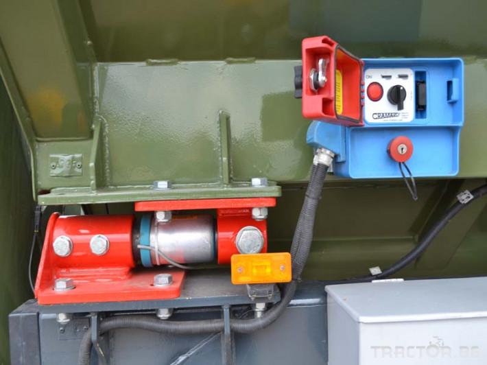 Ремаркета и цистерни Контейнер за събиране Кобзаренко ПБН-20 9 - Трактор БГ