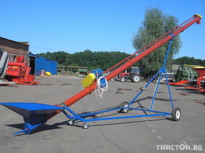 Други Стационарен шнек Кобзаренко СШ – електрически 9 - Трактор БГ