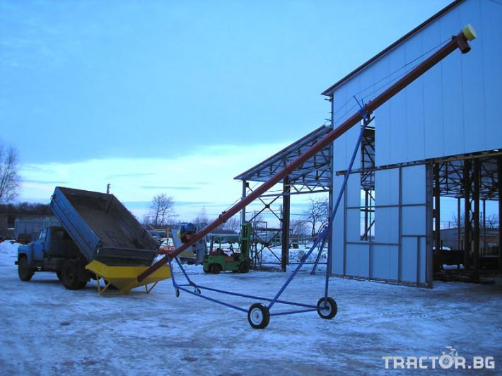 Други Стационарен шнек Кобзаренко СШ – електрически 10 - Трактор БГ