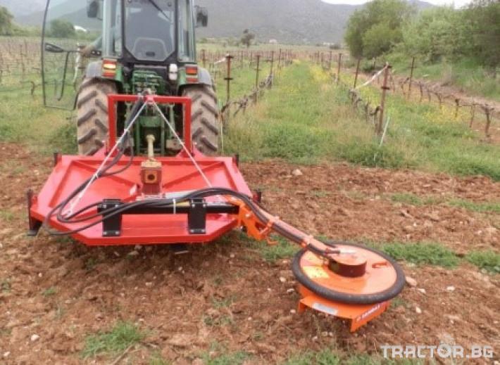 Машини за лозя / овошки Роторна косачка плоска марка SANIDAS 6 - Трактор БГ