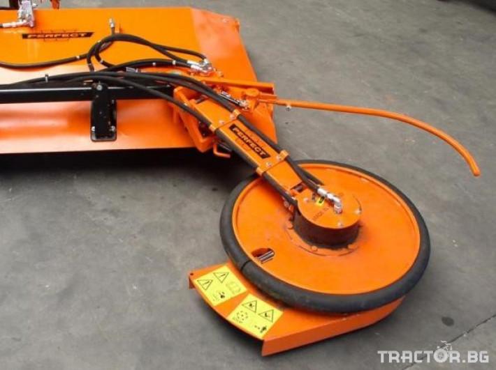Машини за лозя / овошки Роторна косачка плоска марка SANIDAS 7 - Трактор БГ