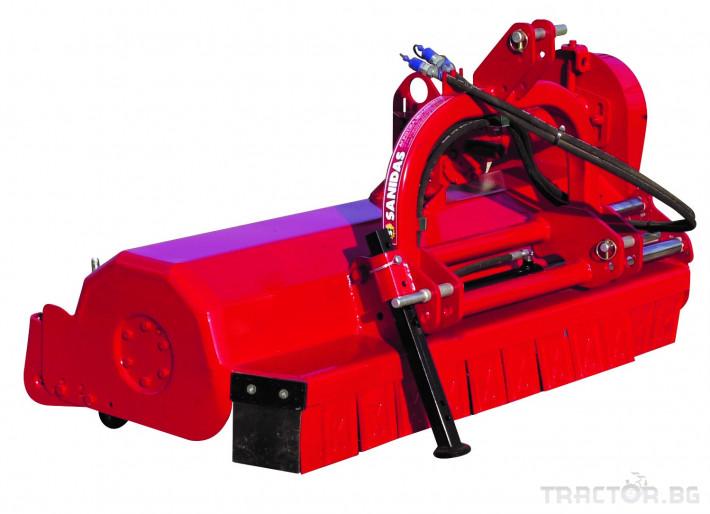 Мулчери Мулчер марка SANIDAS модел SFET, STRF, SFBT, STRU 0 - Трактор БГ