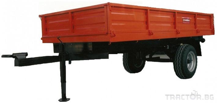 Машини за лозя / овошки Платформа (Ремарке) марка SANIDAS 1 - Трактор БГ