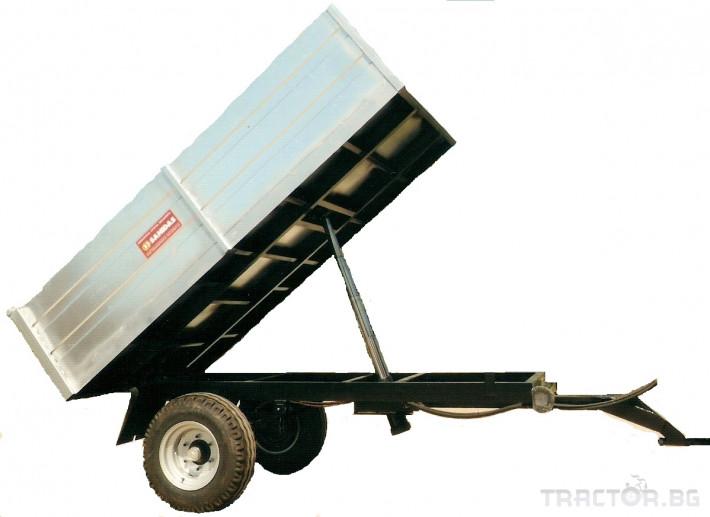 Машини за лозя / овошки Платформа (Ремарке) марка SANIDAS 2 - Трактор БГ