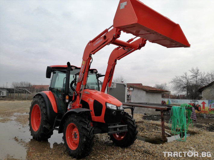 Трактори Kubota M5091, M5111 4 - Трактор БГ