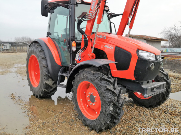 Трактори Kubota M5091, M5111 5 - Трактор БГ