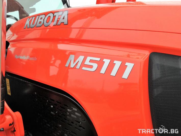 Трактори Kubota M5091, M5111 6 - Трактор БГ