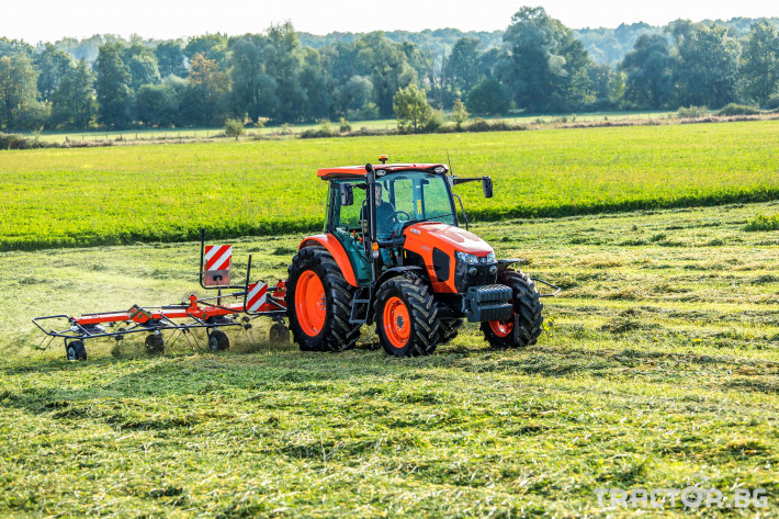 Трактори Kubota M5091, M5111 8 - Трактор БГ