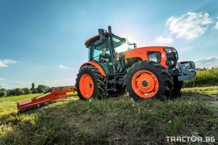 Трактори Kubota M5091, M5111 9 - Трактор БГ