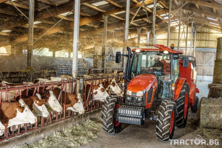 Трактори Kubota M5091, M5111 23 - Трактор БГ
