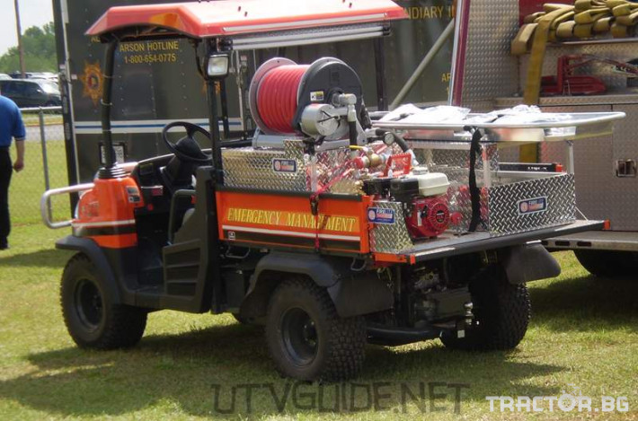 UTV, ATV, сервизни коли Многофункционални превозни средства RTV 8 - Трактор БГ