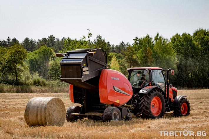 Сламопреси Рулонни сламопреси Kubota 3 - Трактор БГ