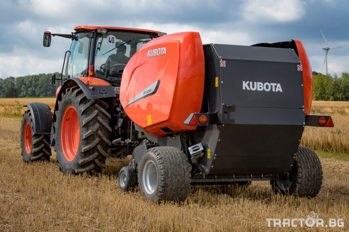 Сламопреси Рулонни сламопреси Kubota 2 - Трактор БГ