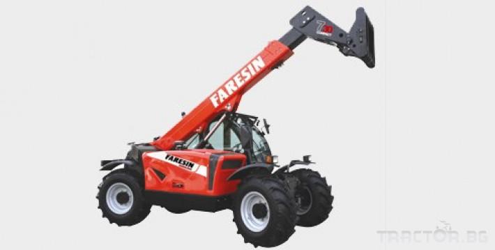 Телескопични товарачи Faresin 7.30 3 - Трактор БГ