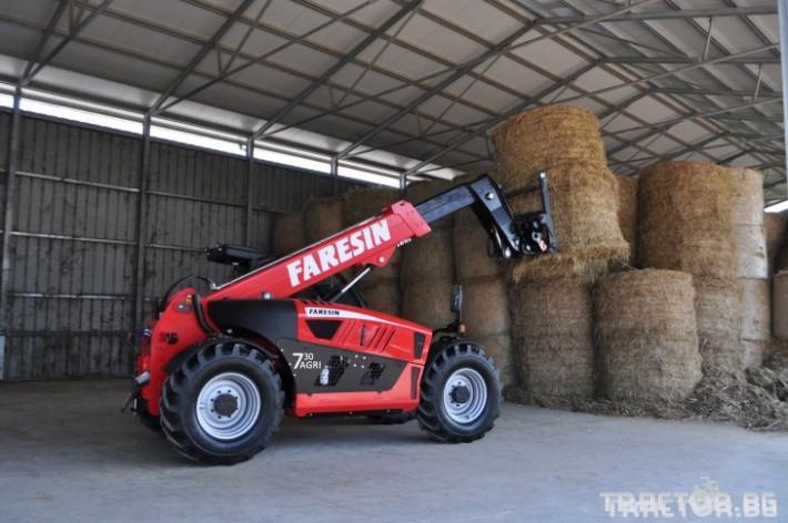 Телескопични товарачи Faresin 7.30 0 - Трактор БГ
