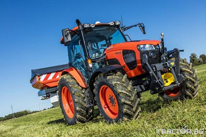 Трактори Kubota M5091 0 - Трактор БГ