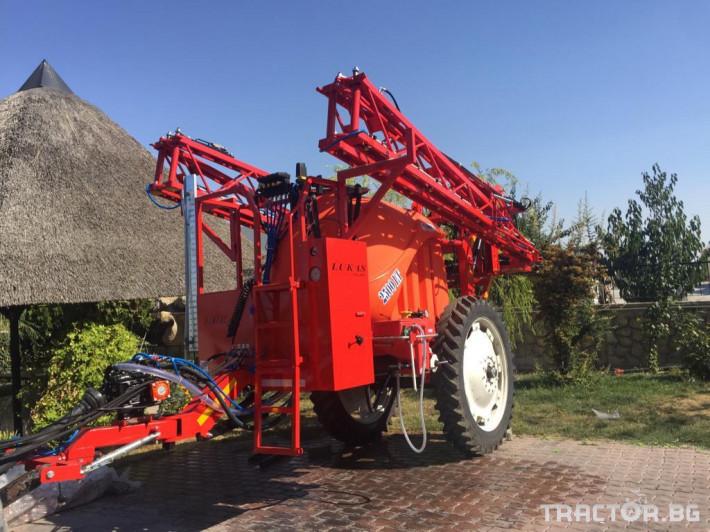 Пръскачки Пръскачка Lukas Mega 3000 0 - Трактор БГ