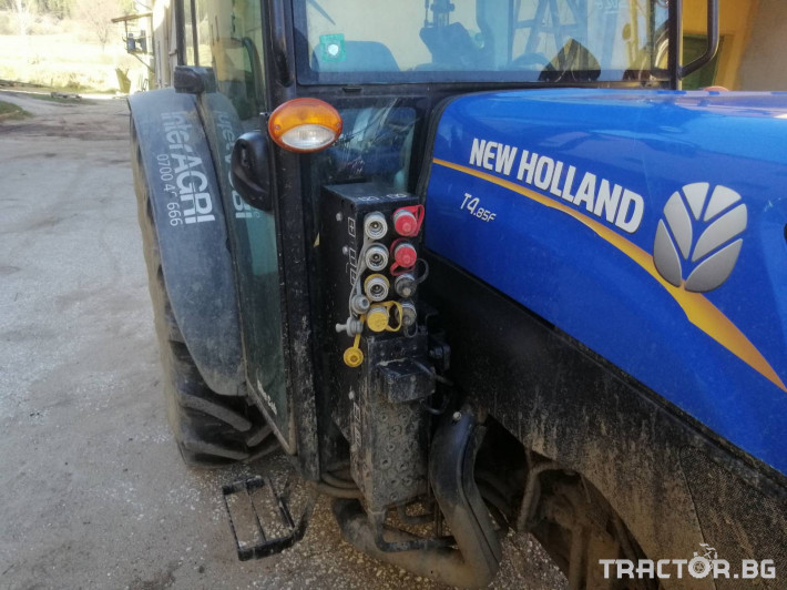 Трактори New-Holland T4.85F 6 - Трактор БГ