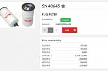 HIFI FILTER SN40645